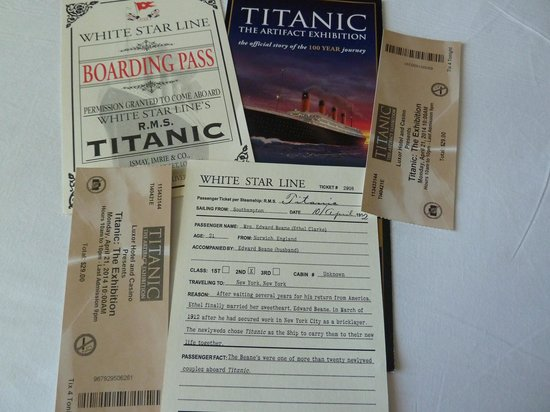 Titanic: The Artifact Exhibition: Tickets