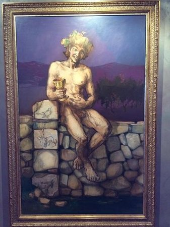 Ontañon Bodega Museo: there is a funny story to this guy.....