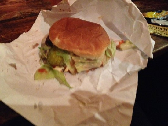 Burger Joint at Le Parker Meridien Hotel: The Cheeseburger