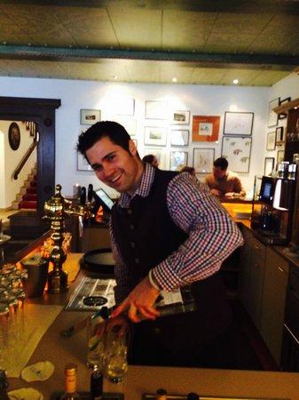 Hotel Haldenhof: Coctail time with Alberto