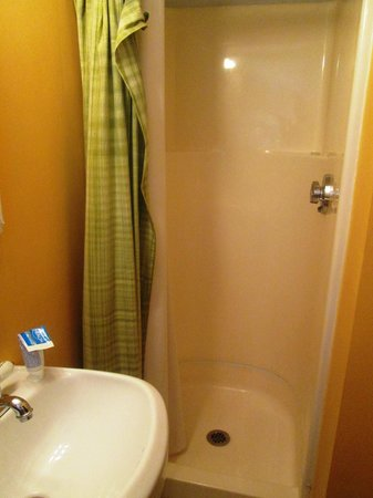 Shower stall in a double room - Picture of Saltwinds Bed & Breakfast ...