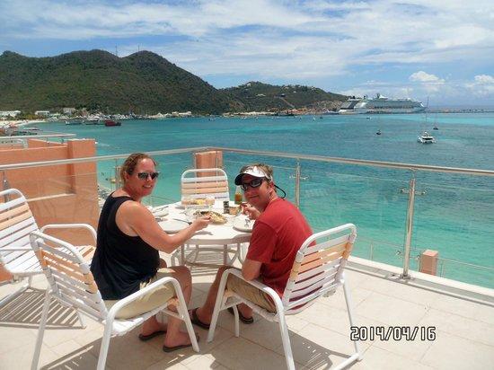 Sea Palace Resort : Balcony view