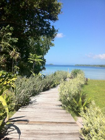 Ratua Private Island : Path to 'our' beach