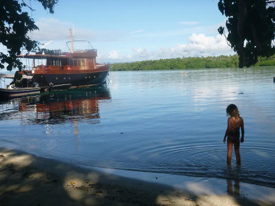 Ratua Private Island : Early morning