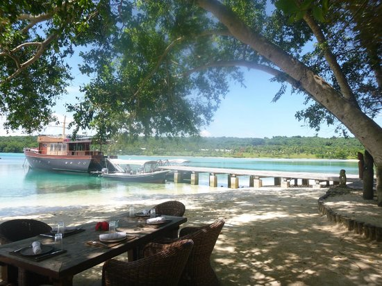 Ratua Private Island : View from yacht club