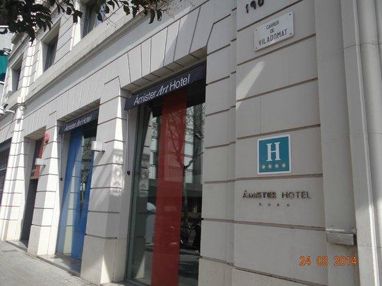 Sercotel Amister Art Hotel: hotel