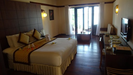 Vinh Hung Riverside Resort: Spacious rooms