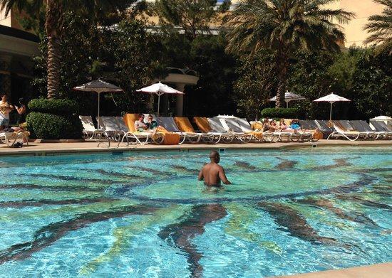 Swimming in the pool picture of encore at wynn las vegas las vegas tripadvisor for Best swimming pools in las vegas hotels