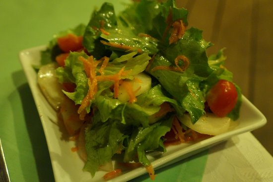 Vila Chaumieres Restaurant : Side Salad