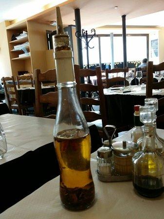 Amareto: Chili olive oil!! :)