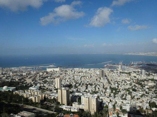 Dan Panorama Haifa: View of Haifa port from the room