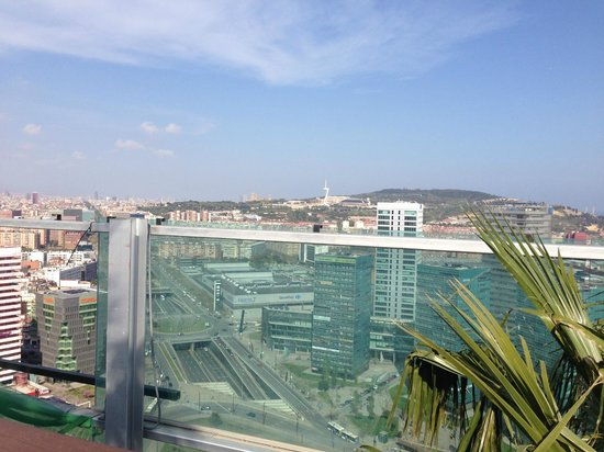 Renaissance Barcelona Fira Hotel : The View From Up Here