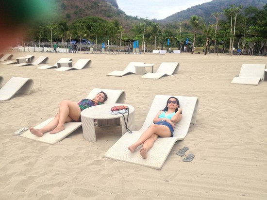 Pico Sands Hotel : white sand beach