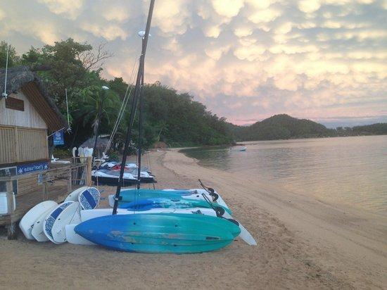 Malolo Island Resort: Rec area