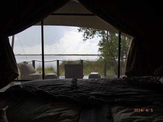 Wilderness Safaris DumaTau Camp: View from our room