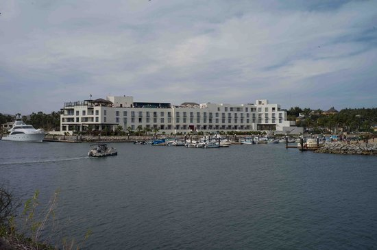 Hotel El Ganzo: The hotel from the beach