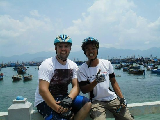 Vietnam Active - Adventure Company and Dive Center: On our way to Ba Ho Waterfalls
