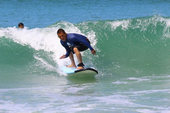 me surfing tnx to the Wildmex in Sayulita team