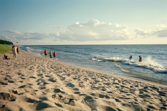 Saugatuck Dunes State Park: The beach