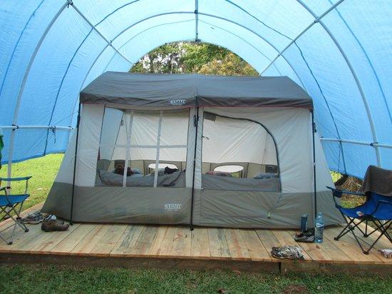 Lirio Lodge Barra de Pacuare: the tents