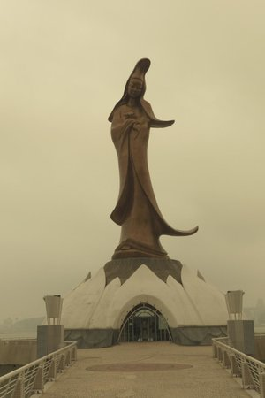 Kun Iam Statue (sepia)