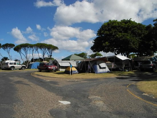NRMA  Merimbula Beach Holiday Park: plenty of roads around the sites to get to where you need