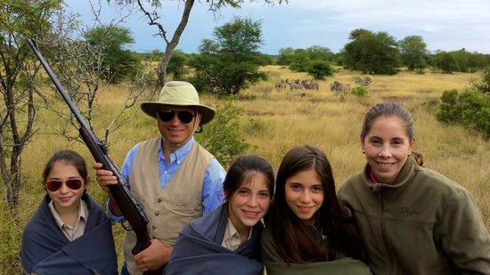 Singita Lebombo Lodge : family picture
