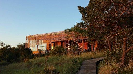 Singita Lebombo Lodge : The lodge
