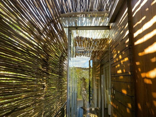 Singita Lebombo Lodge: entrance to my room