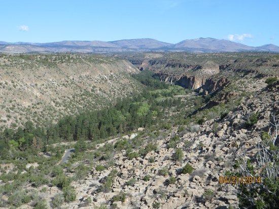 Bandelier National Monument : Jemez Canyon