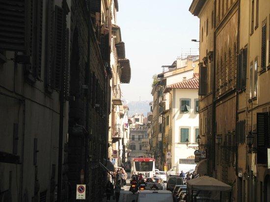Ponte Vecchio: ruas Florença