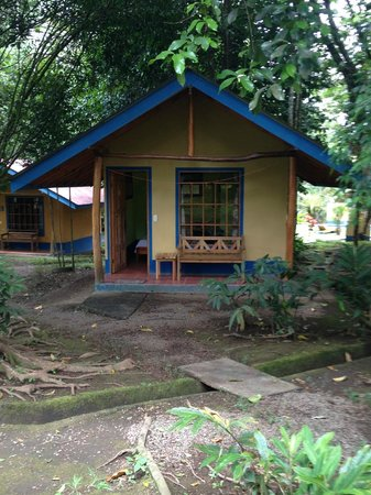 Cerro Chato Eco Lodge: Bungalow with private bathroom