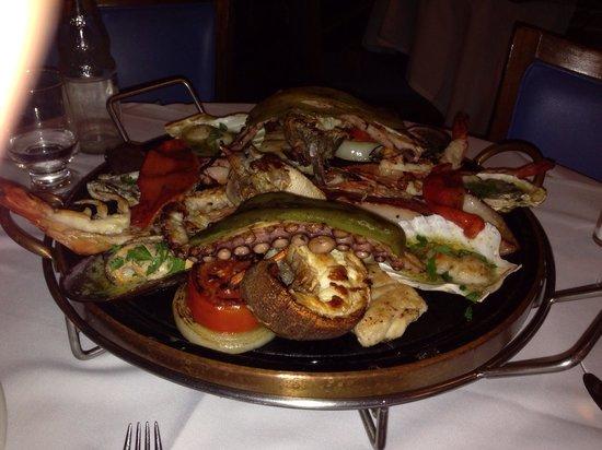 Rufino's: Fish fruits very good!