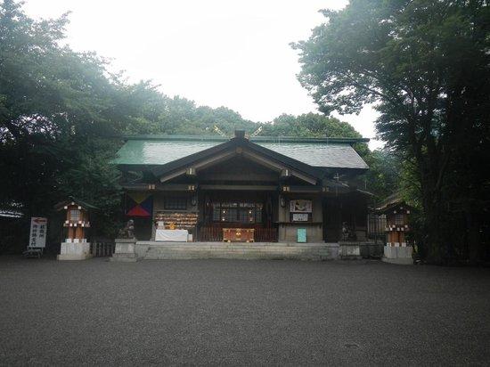 Togo Shrine: 本殿