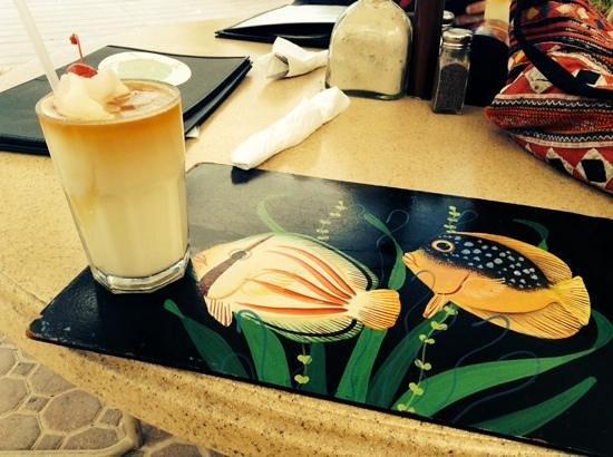 Ocean Club Cabana Bar & Grill: piña colada
