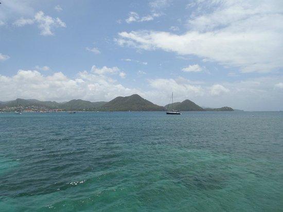 Sandals Grande St. Lucian Spa & Beach Resort : The gorgeous view