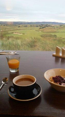 Barnbougle Lost Farm : View from breakfast over the Lost Farm