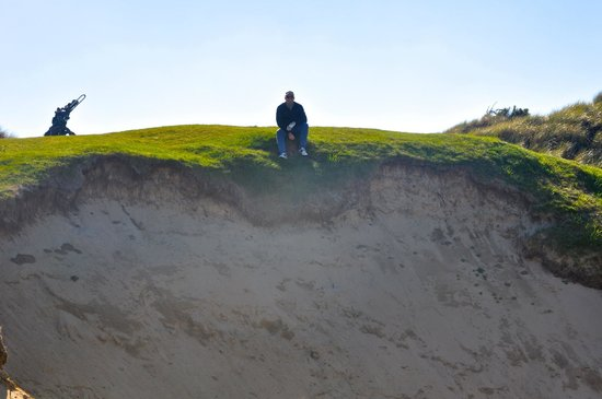 Barnbougle Lost Farm: 'Jaws' bunker at the Dunes