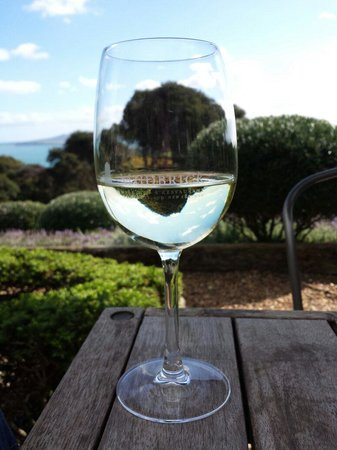 Mudbrick Vineyard : Wine & view