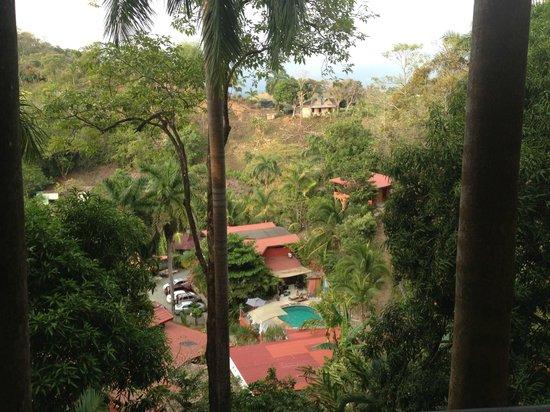 Las Cascadas The Falls: rooms at the top