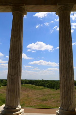 Vicksburg National Military Park : View from IL Monument