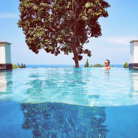 Trisara Phuket: Our private infinity pool