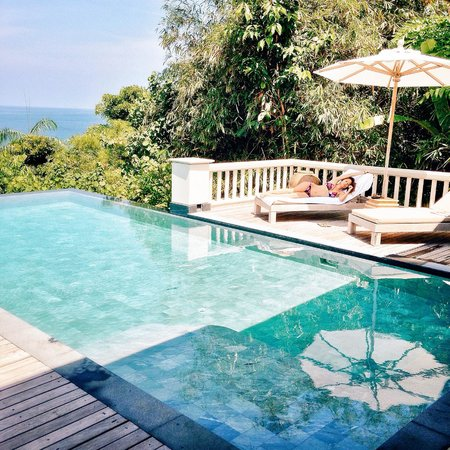 Trisara Phuket: our pool at the villa