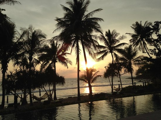Trisara Phuket: sunset