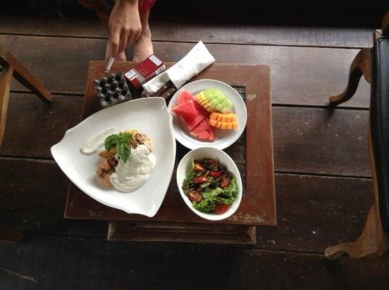 Putu Bali Villa and Spa: food