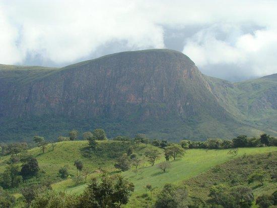 São José do Barreiro, MG: Serra da Canastra (vista do chalé)