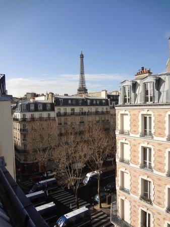 Hotel Relais Bosquet Paris: View from room