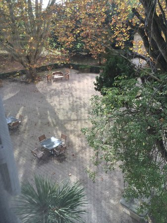 Le Chateau des Alpilles : View from our corner room