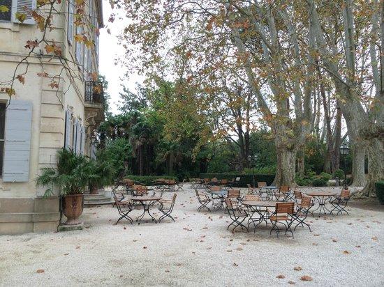 Le Chateau des Alpilles : Chateau & grounds