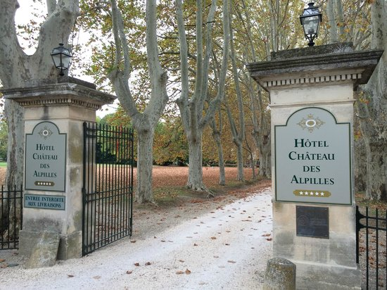 Le Chateau des Alpilles : Entrance to the Chateau